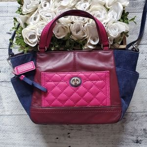 Coach Park Leather Quilted Mini Crossbody